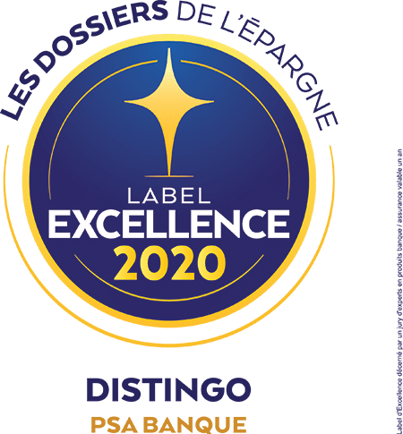 PSA Banque Label excellence 2020
